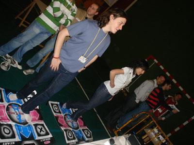 Alfombras de baile en PalLantia en red 2008