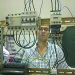 Encendido de un motor con un autómata a través de un contactor, junto con sus protecciones
