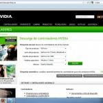 Nvidia, busqueda de soporte técnico sobre una Nvidia Geforce Go 7400