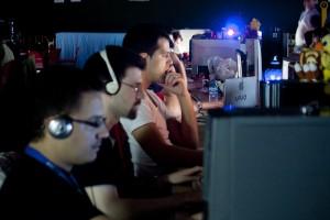 Mas de 24 horas frente al ordenador en PalLANtia en Red 2011
