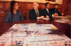Presentacion oficial de PalLANtia en Red 2011 ante los medios de comunicación