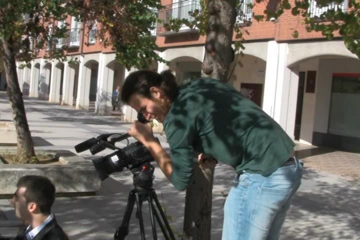 Rodando cortometrajes