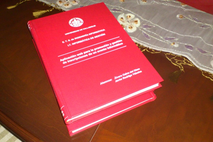 Oficialmente INGENIERO TÉCNICO EN INFORMÁTICA DE GESTIÓN en la Universidad Pública de Valladolid (UVa)