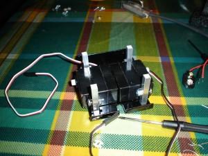 Montaje de la base con los servomotores
