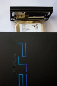 Introduciendo disco duro en PlayStation 2