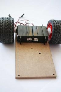 Servomotores trucados para el robot